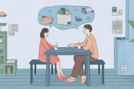 Chúng tôi đã thỏa thuận tài chính khi sống chung như thế nào?