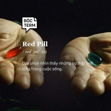 Bóc Term: Red pill là gì? Vì sao nó thành meme?