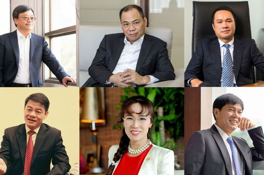 Six Vietnamese Billionaires On Forbes 2021 World's Richest List