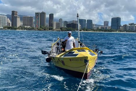 Erden Eruç, 15-Time Guinness World Record Holder, Attempts To Row From America To Asia Across The Pacific