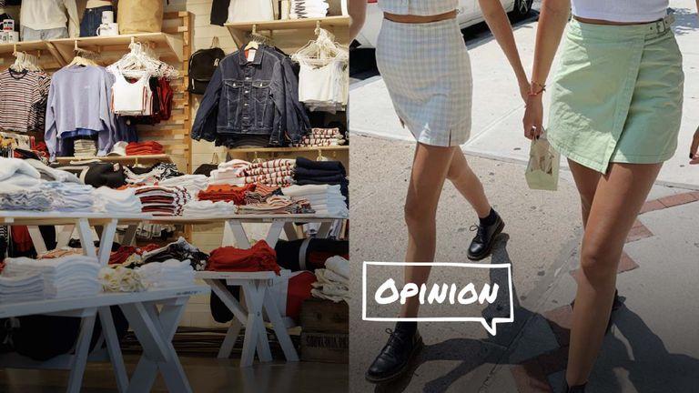 """Quần áo size """"tí xíu"""": Dễ thương hay body-shaming?"""