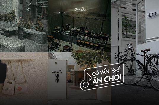 5 Quán cafe cho người yêu phong cách tối giản