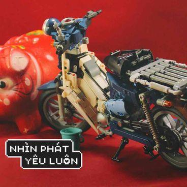 Huỳnh Khang và những mảnh ghép cảm xúc bằng Lego