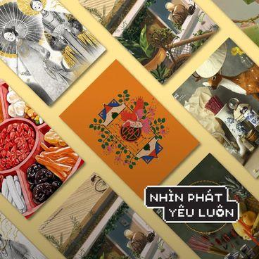 Đầu năm ngắm Tết qua 18 tác phẩm đến từ 6 nghệ sĩ Việt