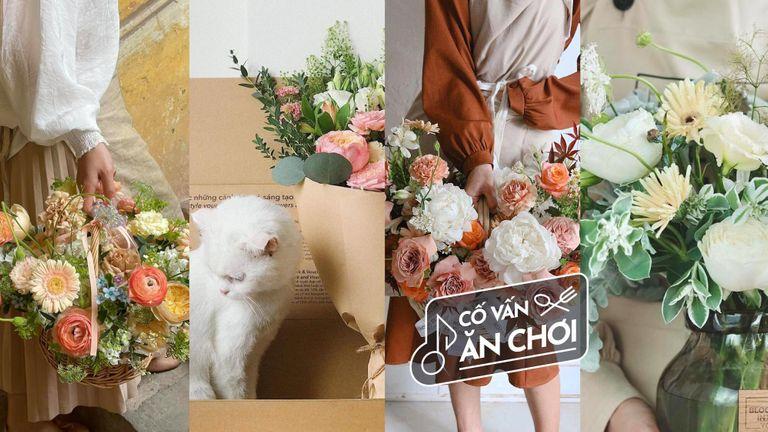 4 Tiệm hoa thân thiện với môi trường ở Hà Nội
