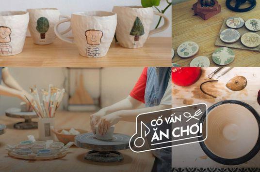 5 Lớp gốm ở Sài Gòn cho bạn tha hồ lấm lem!