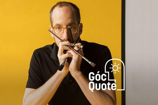 Christoph Niemann: Muốn thú vị thì phải cam chịu