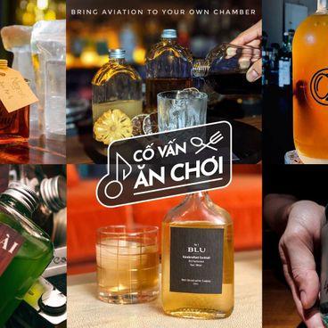Chill tại gia với cocktail giao tận nhà ở Sài Gòn!