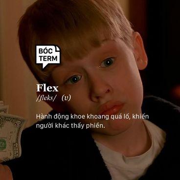 Bóc Term: Flex và văn hoá khoe của