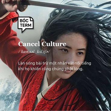 Bóc Term: Cancel culture là gì?
