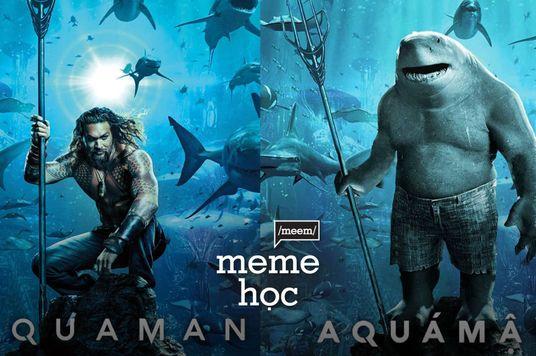 Meme Học: Ngoài đường anh là cá mập, về nhà anh là cá con