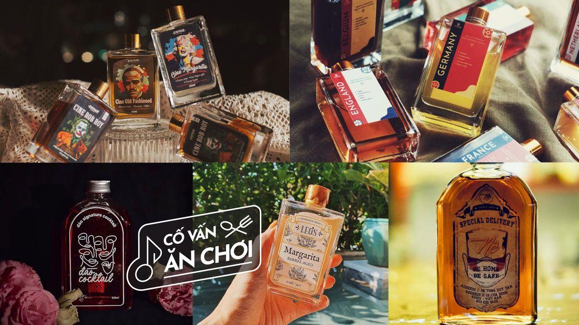 5 Quán Cocktail ship tận tay ở Hà Nội để bạn say sưa tại nhà