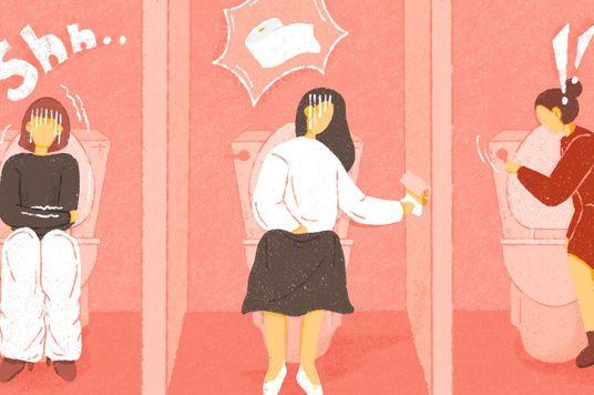 """Office Gossip: Toilet nữ, muôn vàn chuyện """"khó xử"""""""