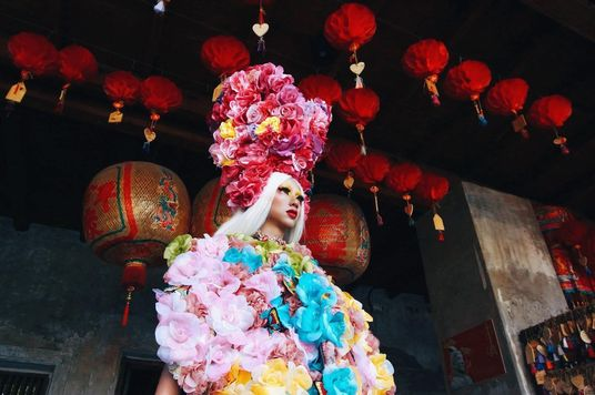 Sweet Valentien: This Drag Queen Could Leave All But His Wig Behind
