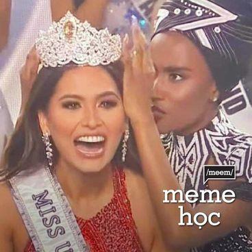 Meme học: Hoa hậu Hoàn vũ, thái độ hoàn hảo