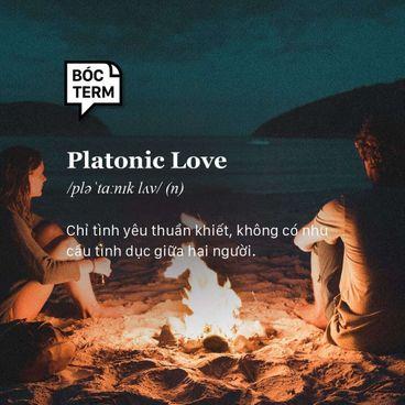Bóc Term: Platonic love là gì? Liệu có tồn tại tình yêu không tình dục?