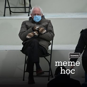 Meme học: Bernie Sanders - Thượng nghị sĩ ngồi không cũng viral