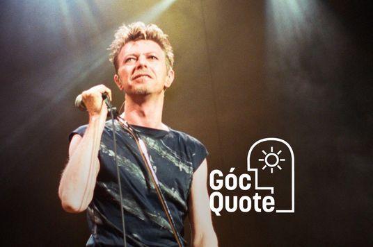David Bowie - Đừng chất vấn chính mình