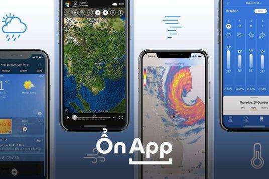 Ổn App: 4 Ứng dụng dự báo thời tiết vừa chuẩn, vừa bắt mắt