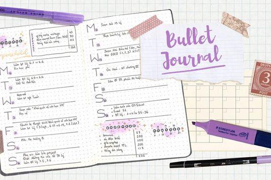 Vừa làm vừa chơi mà vẫn quản lý công việc hiệu quả? Chào mừng đến với phương pháp Bullet Journal!