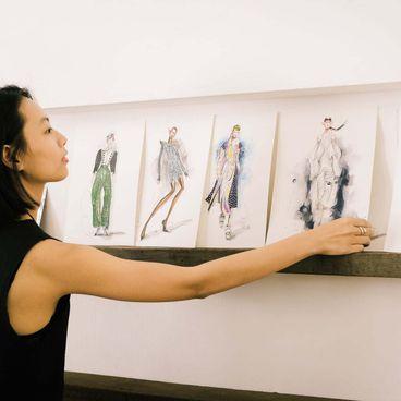Nghề Lạ: Kiquy Phạm cắt nghĩa minh họa thời trang