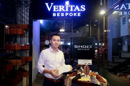 Từ đam mê đến phát kiến làm giày cà phê của doanh nhân 8x Việt Nam