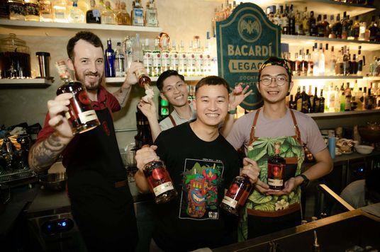 Khám phá những ly cocktail huyền thoại mới từ 3 nhà vô địch Bacardi Legacy Vietnam