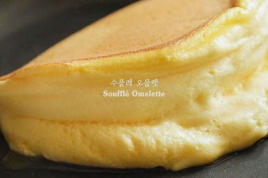 Ra Lò: Soufflé omelette - Trứng bọt biển bông xốp mềm mịn